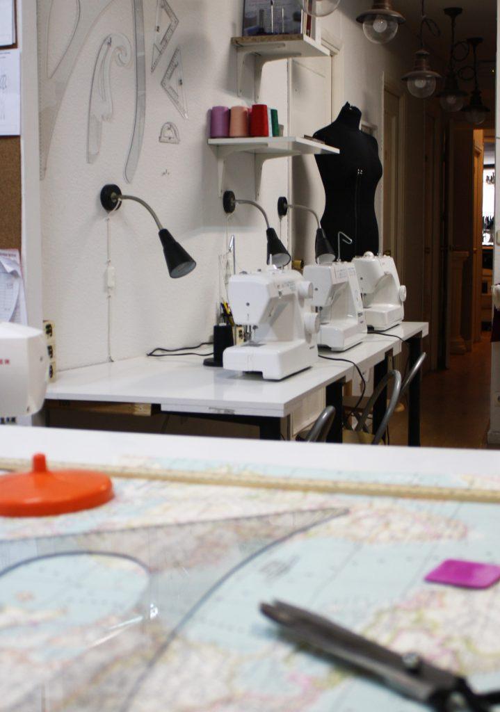 Escuela de costura en Madrid