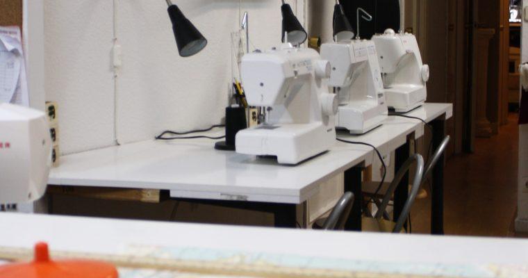 Inauguración escuela de Costura en Madrid.