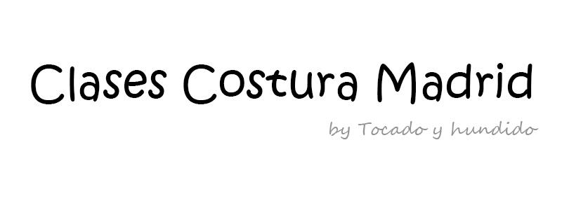 Clases costura Madrid by Tocado y Hundido